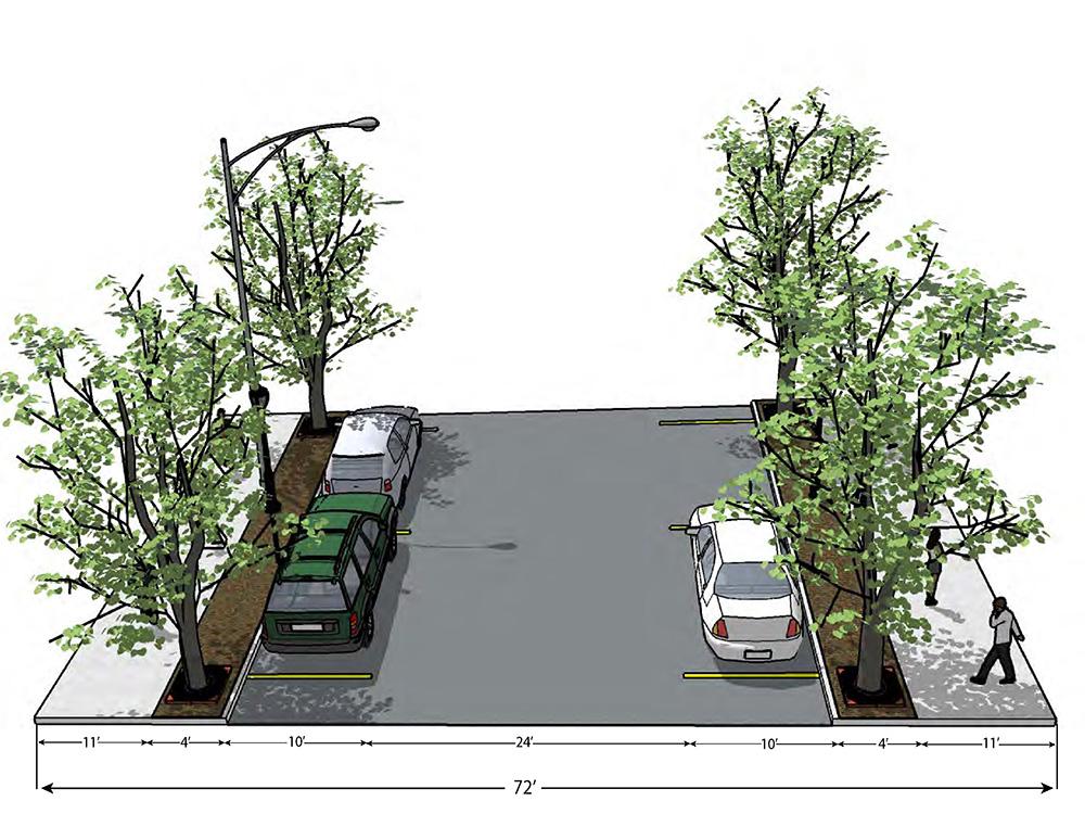 Gabby Masucci and Jon Brancha, Downtown Littleton Streetscape Redesign