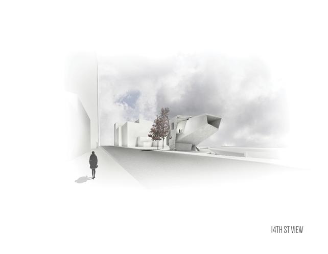 rendering of exterior space