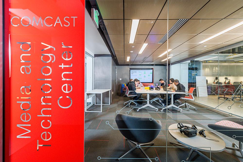 Comcast Center interior